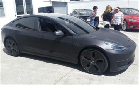 model 3 colors more tesla model 3 colors being spotted ahead of official unveiling event