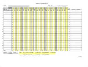 employee attendance template 7 employee attendance tracker procedure template sle