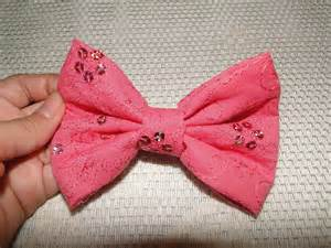 how to make a hair bow easy diy how to do a and easy hair bow no sew