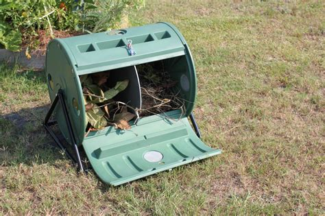 Patio Composter composter dual patio back yard barrel tumbler for home