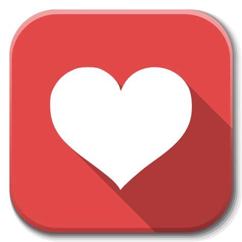 heart layout app apps favorite heart icon flatwoken iconset alecive