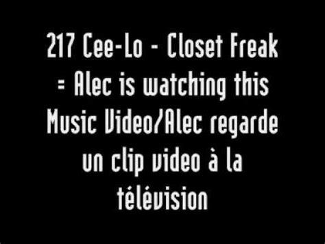 What Is A Closet Freak by Das 217 Cee Lo Closet Freak