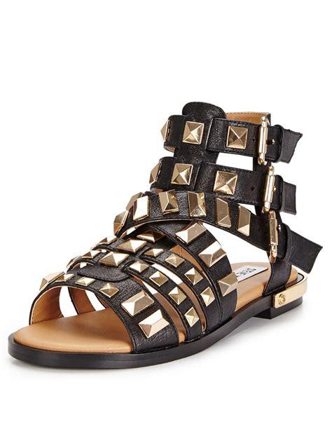 steve madden studded sandals steve madden herra heavy studded gladiator sandals in