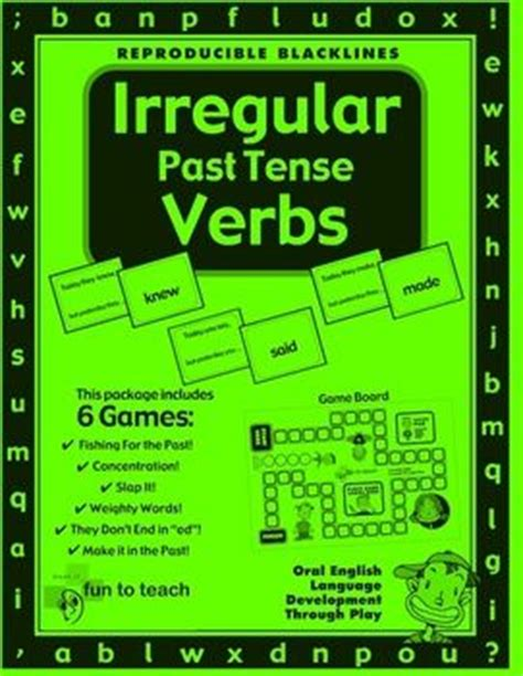layout verb past tense 18 best images about verbs on pinterest present perfect