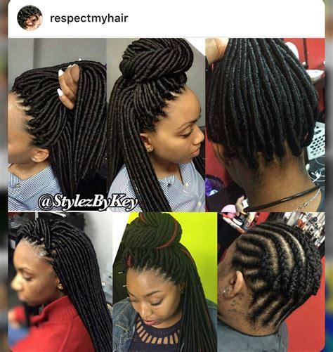crochet braid pattern updo hairstyles crochet dreads braid styles pinterest dreads