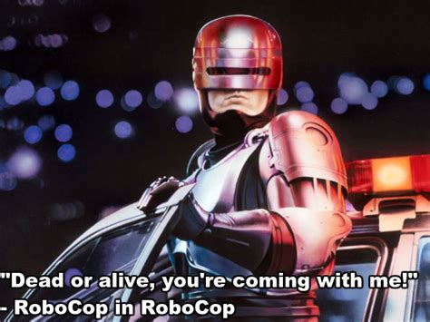 Robocop Meme - sci fi movie quotes