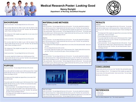 good templates for posters scientific poster design and layout fonts colors