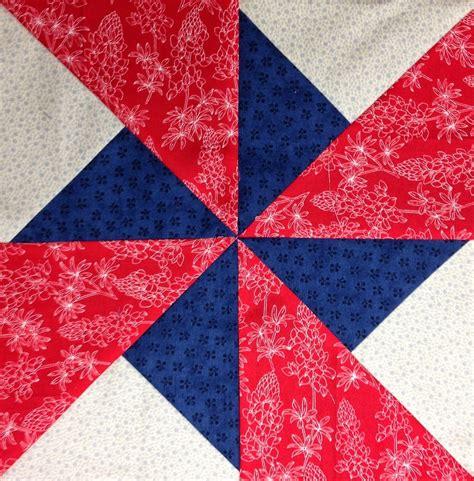 Pinwheel Quilt Block by Butterfly Threads Pinwheel Block