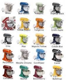 kitchenaid mixer colors i m in with my kitchenaid mixer