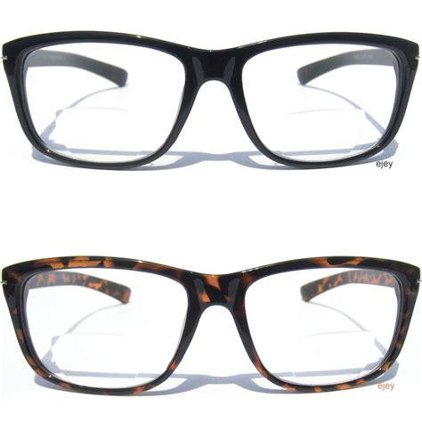 bifocal lens reading eye glasses classic design readers