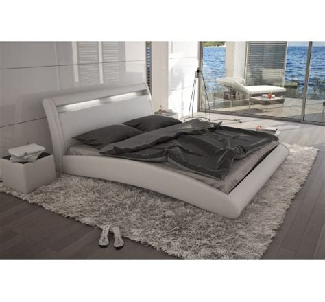 lit design 224 led blanc mangusto 180x200 cm