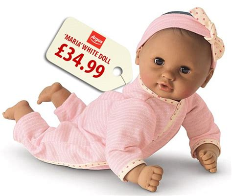 black doll argos argos selling black and asian dolls for 163 10 less than
