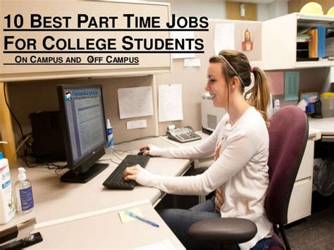 Part Time For College Students Without 10 Best Part Time For College Students On Cus