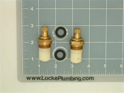 Central Faucet Repair by Central Brass Su 353 Ewh Ceramic Dual Stems Per Pair