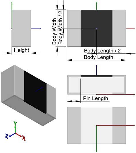 smd capacitor footprint altium smd resistor footprint altium 28 images composants passifs r 233 sistances kits de r 233