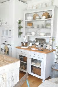 rustic white kitchen pottery barn shopping