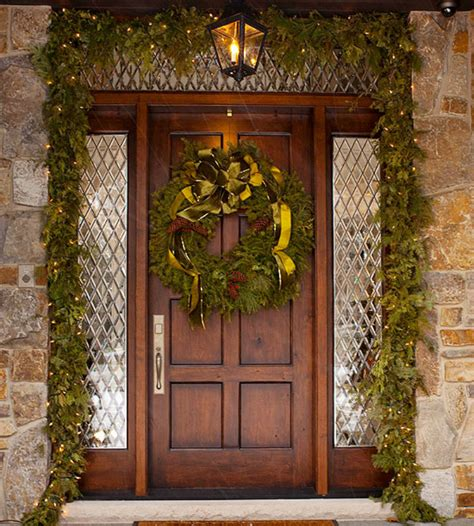 home door decoration christmas front door decorations you will want for your house