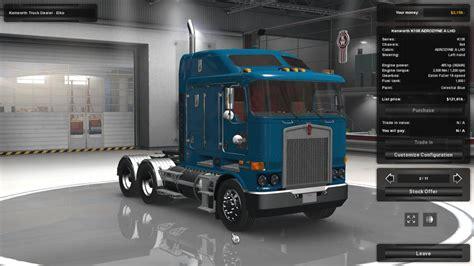 kenworth technical support kenworth k108 for ats truck simulator mod ats mod