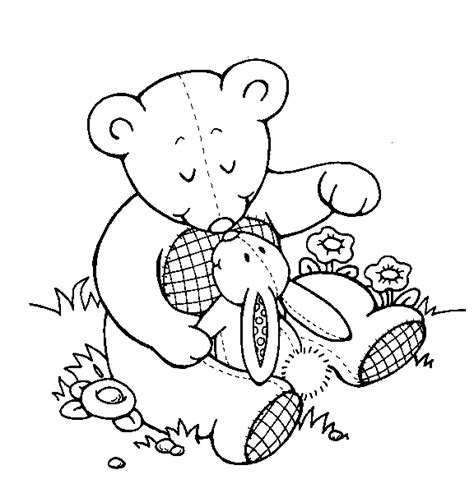 tatty teddy bear coloring pages coloring pages