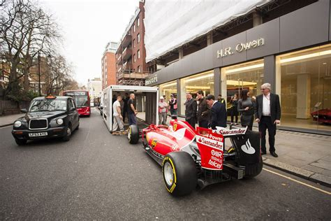 dealership named world s best gets 2015 f1 car