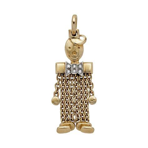 Whizliz Radcliffe Gold Pendant 18k pomellato jewelry watches