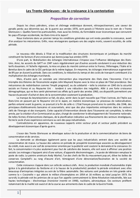 dissertation in les trente glorieuses structure de la dissertation