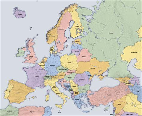 europe map and countries dacian g 2 vartute