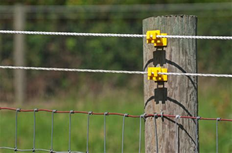 install  electric fence charger blains farm