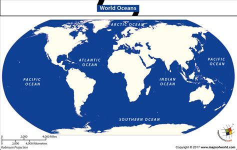 map world oceans how the oceans got their names answers