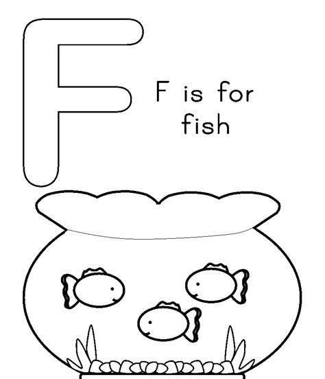 coloring page for the letter f f is for coloring page coloring home