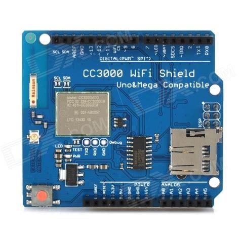 tutorial arduino wifi shield cc3000 wi fi shield module w micro sd card slot for