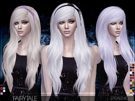 sims 4 female hairstyles the sims resource stealthic fairytale female hair