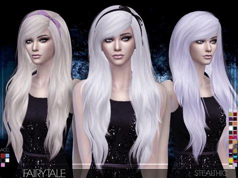 stealthic vapor female hair the sims resource stealthic fairytale female hair