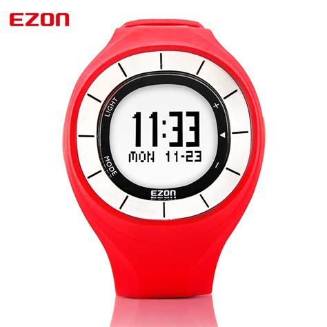ezon fashion rubber clock colorful sports