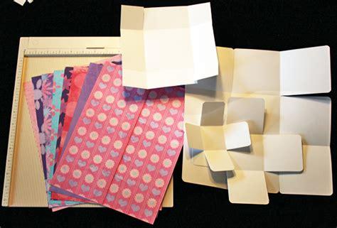 Scrapbook Exploding Box printable tutorial exploding box mini album
