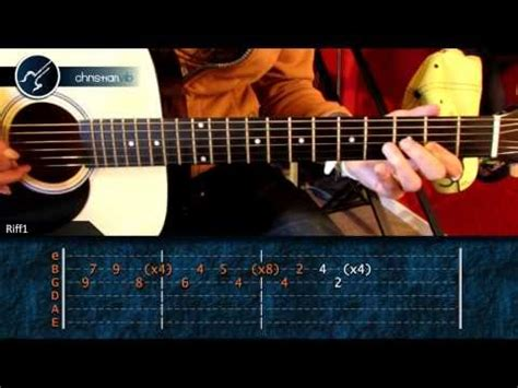 tutorial zombie guitarra c 243 mo tocar the unforgiven de metallica en guitarra