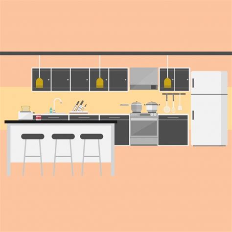 design a kitchen online without downloading kitchen background design vector free download