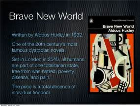 common themes in brave new world and 1984 dystopian worlds