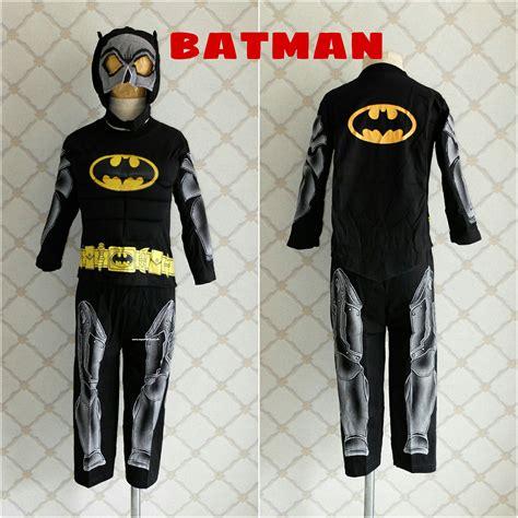 Kaos Baju Superman Batman kostum anak batman otot superheroku