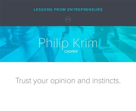 lessons learned from 10 years of entrepreneurship and why ill trust your opinion and instincts