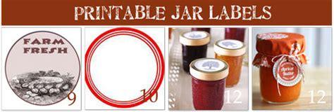 How To Make Labels for Jar Canning {15 Printables}   Tip