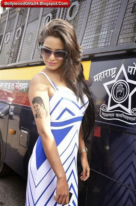 tattoo name poonam poonam pandey hot photos from sachin s last match indian