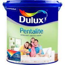 Cat Tembok Dulux Pentalite 20l sumber jaya paint brothers toko cat murah jakarta