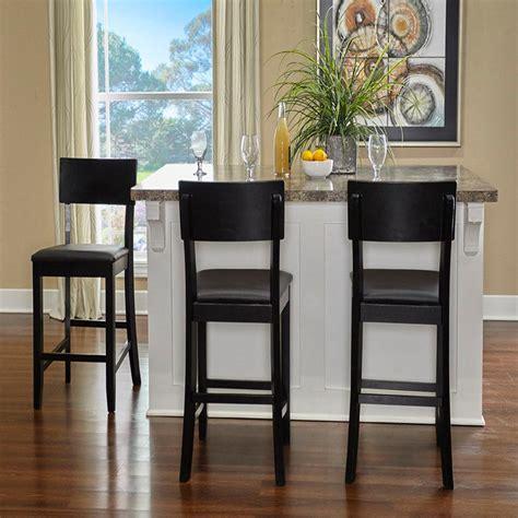 home decorators collection jamison black bar with home decorators collection torino 24 in black cushioned