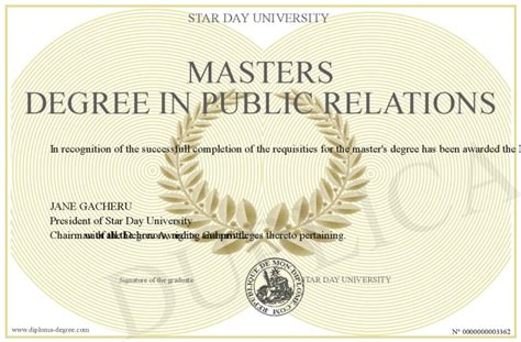 Is Mba Professional Degree Or Master Degree by Masters Degree In Relations