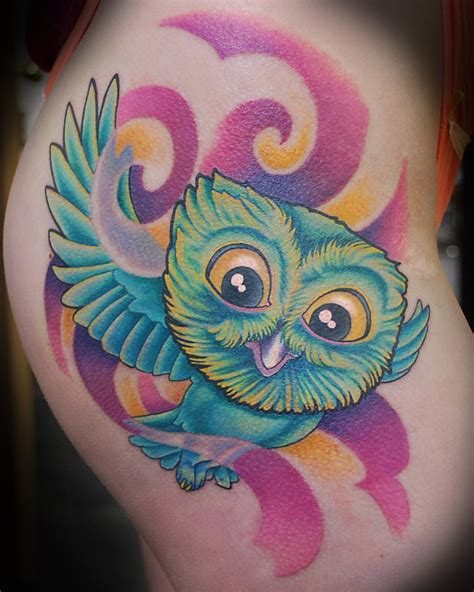 colorful owl tattoo designs owl tattoos are massively popular with both and