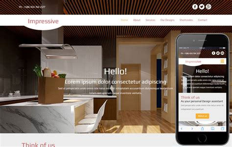 Impressive A Interior Architects Multipurpose Flat Bootstrap Responsive Web Template By W3layouts Interior Website Templates