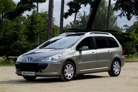 best peugeot 2007 peugeot 307 sw bioflex picture 190209 car review