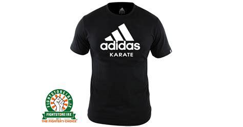 Adidas Karate Tshirt adidas karate t shirt black white fight store ireland