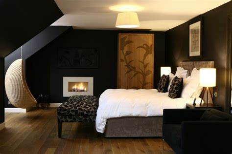 chambre brune choisir la couleur pour une chambre 224 coucher moderne